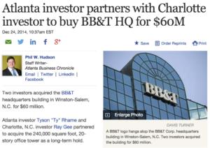 Atlanta investor ty rhame